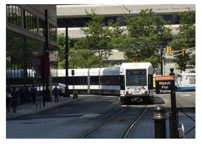 Figure 1 - Hudson-Bergen Light Rail (Source: Flickr).