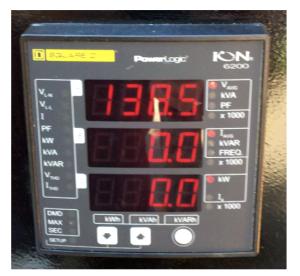 Figure 1 - Electric smart meter (Source: Rutgers University Facilities).