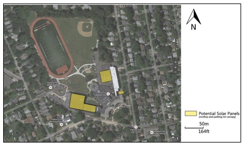 Figure 1: High School / Middle School Site