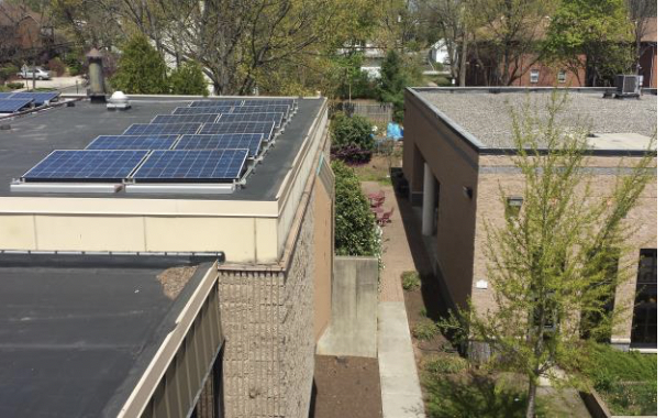 Figure 2 - Borough Hall, Highland Park, NJ. (Source: Rutgers Center for Green Building).