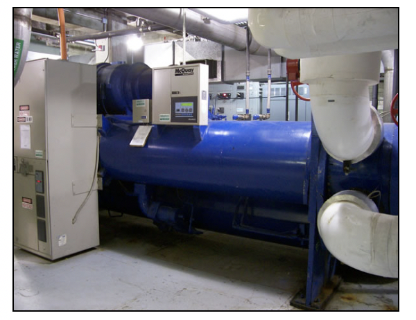 Figure 1 - A High-Efficiency Electric Chiller (Source: Association for Advancement of Sustainability in Higher Education)