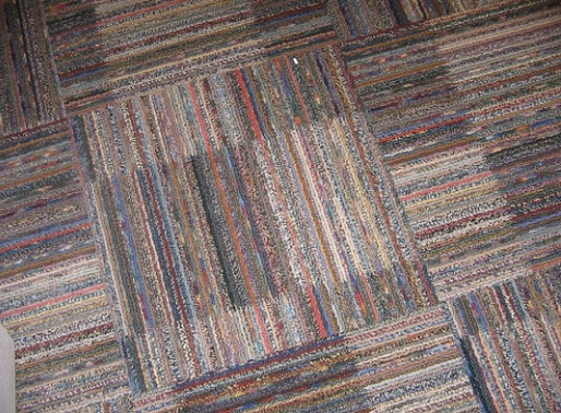 Figure 2 – Carpet made from recycled fibers (Source: Flickr http://www.flickr.com/photos/erindowney/278614807/)